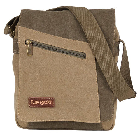 Canvas Messenger Bag - Cross body