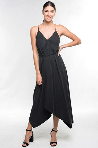 Solid Halter Dress
