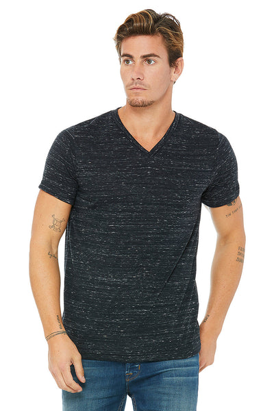 Men's Jersey Short Sleeve V-Neck Tee