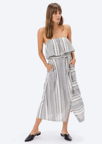 Lita Striped Tube Dress