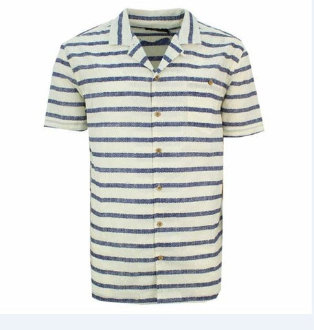 MS-Fifty S/S Button-up Cabana Shirt