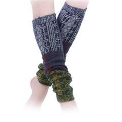 Portico Tri Color Leg Warmers Assorted styles
