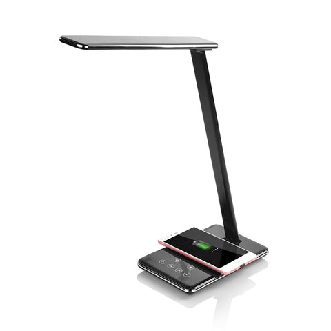 LED Desk Lamp with Wireless Charging Pad