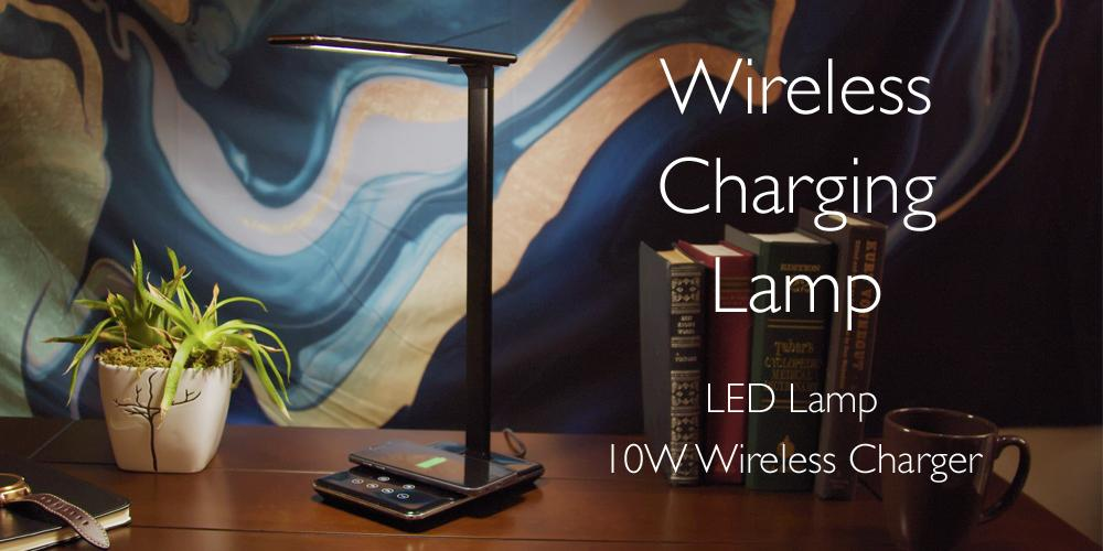 Acesori Wireless Charging Lamp