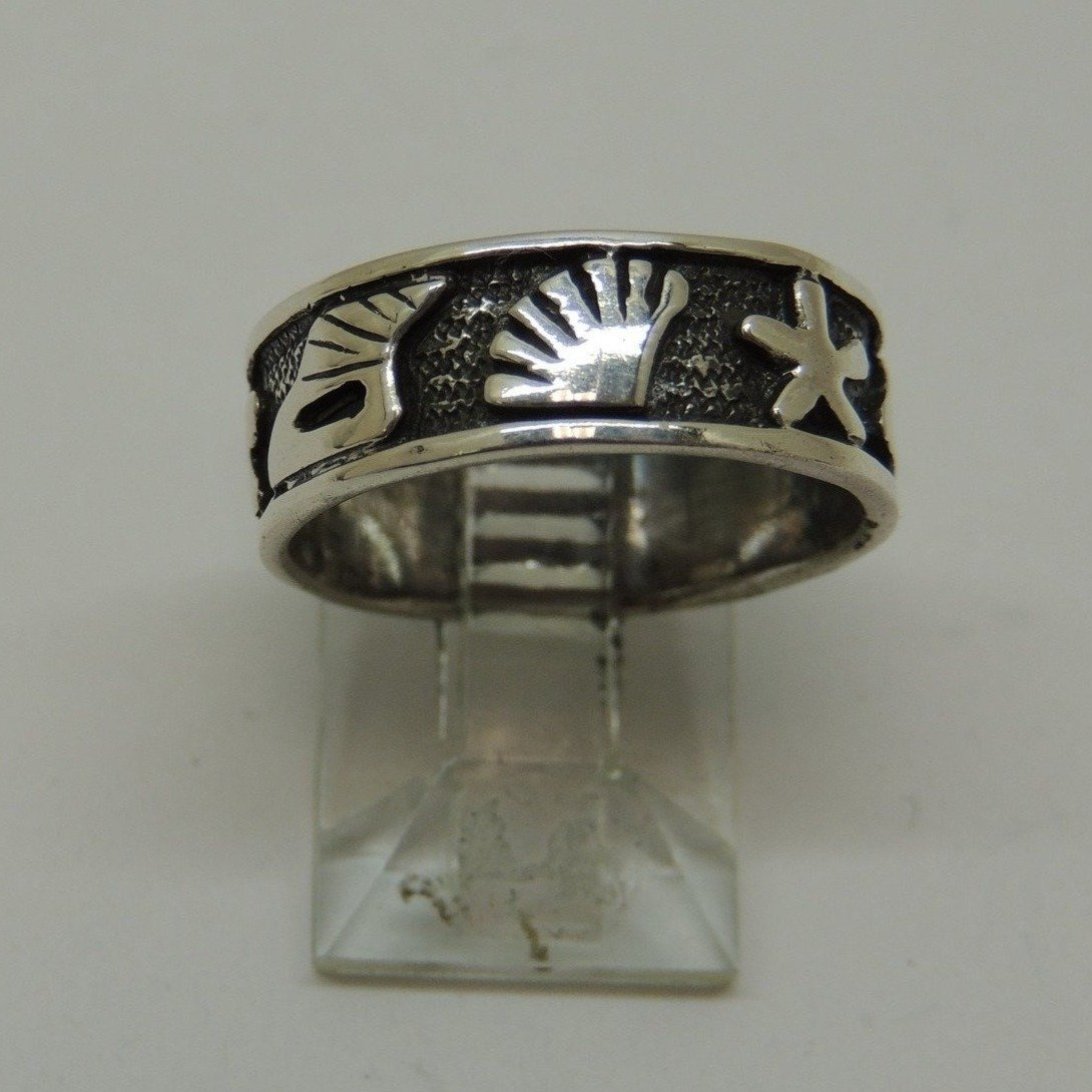 Sterling Silver Band Ring