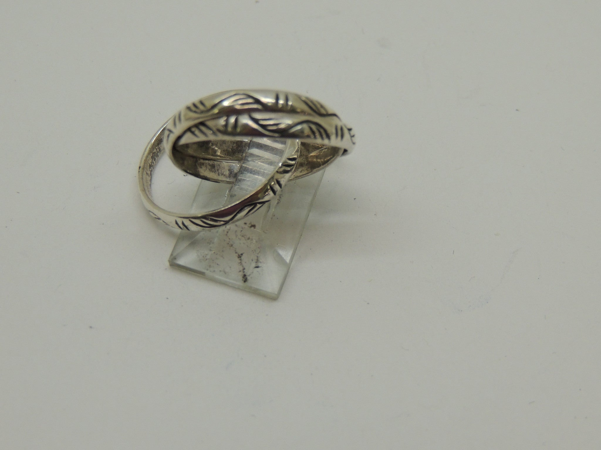 Sterling Silver Band Ring 3 bands