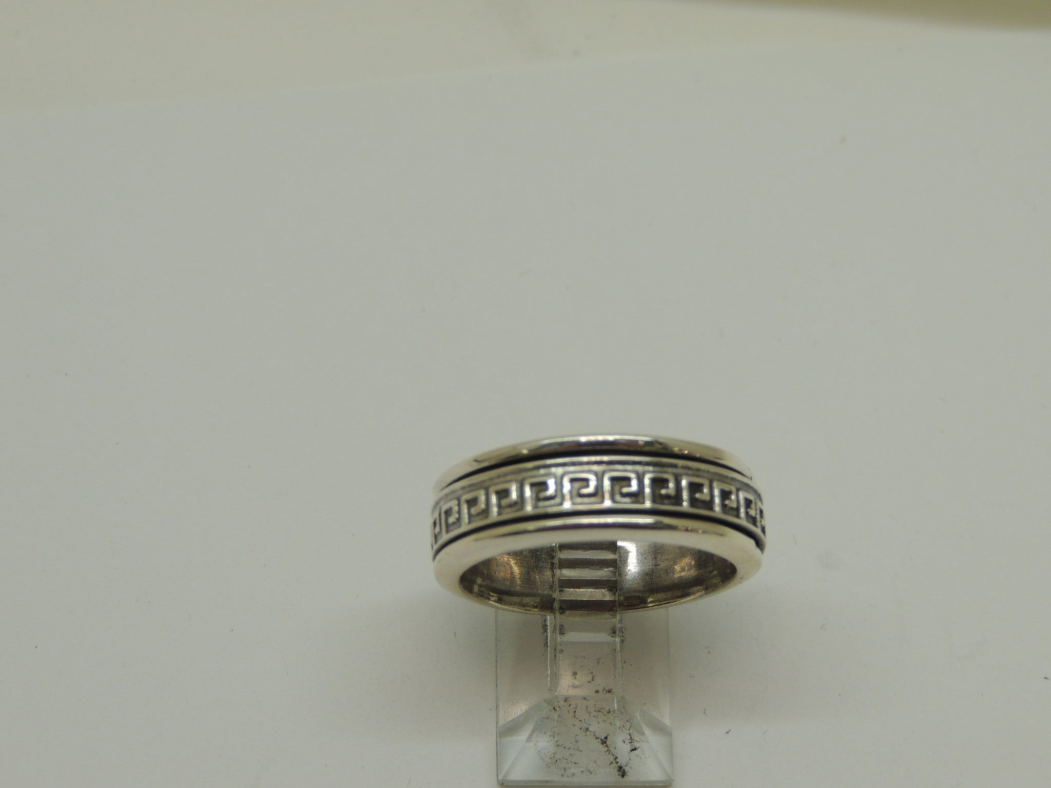 Sterling Silver Spinning Band Ring