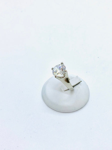 Sterling Silver Cubic Zirconia ladies Ring