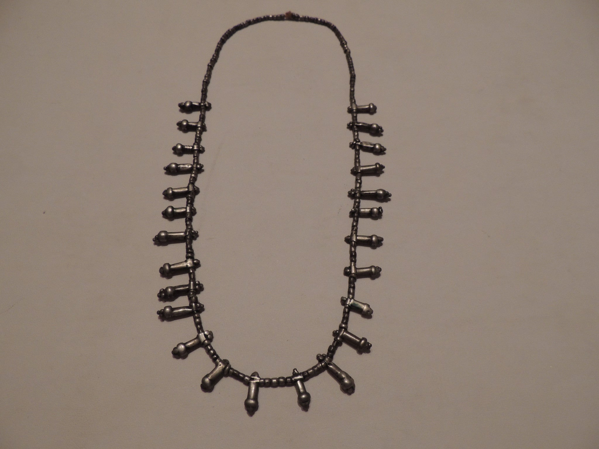 Antique African Silver Necklace