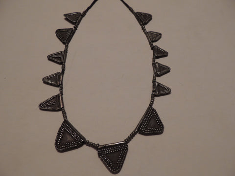 Antique African Silver Primitive Necklace