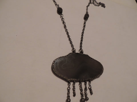 Antique Otoma Silver Necklace