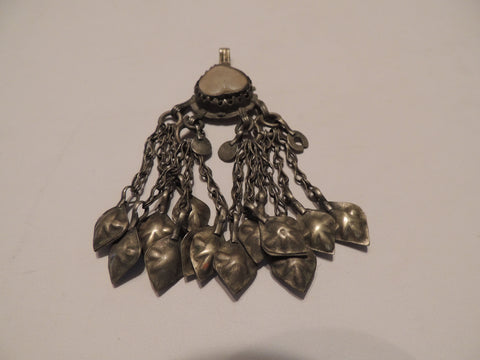 Antique Ottoma Silver Pendant