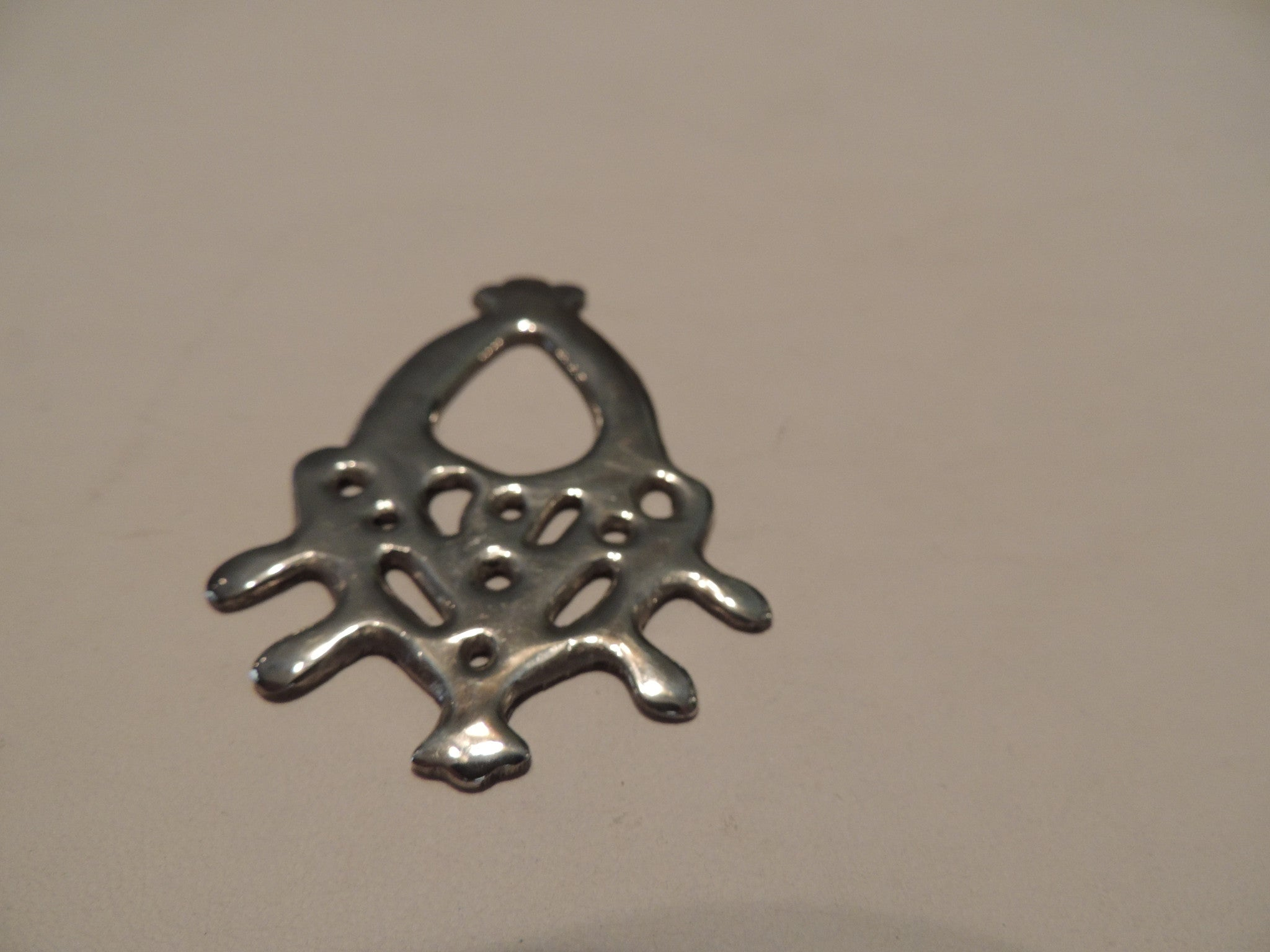 Sterling Silver Pendant Handcrafted by George Alexanian 1971