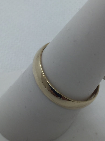 10k Solid Gold Wedding Band Ring