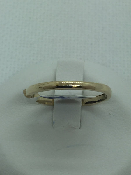 10k Solid Gold Band Ring