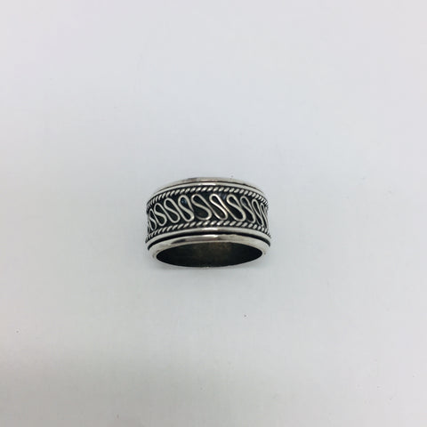 925 Sterling Silver Spinning Band Ring