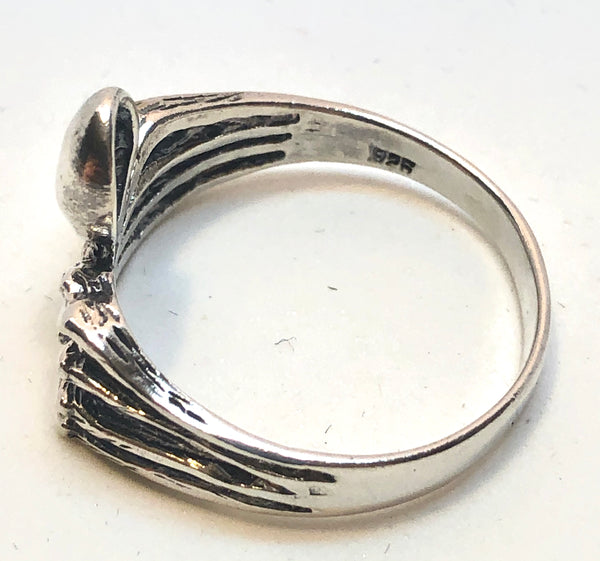 Sterling Silver Spider Ring Size 13