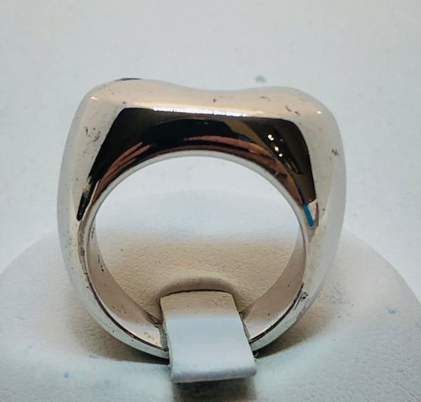 Sterling Silver Ring with Cubic Zirconia Size 6.5