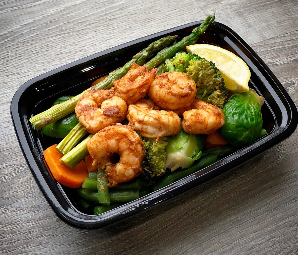 Zesty Shrimp and Veggies
