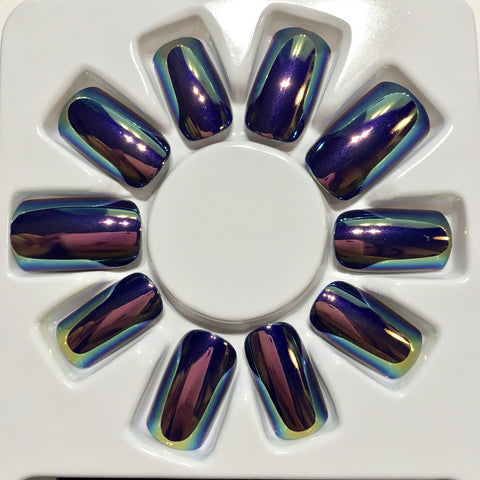 Mirror Shine Nails (Beetle)