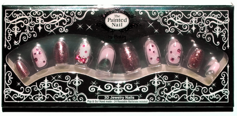 3D Nails: Alice's Pretty Bows