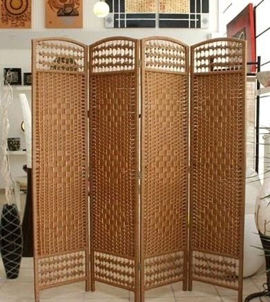 new wicker room divider privacy screen 8ft 24m Gilligan sales