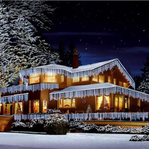 Snowing Christmas Lights.Christmas Lights Bright Led Snowing Icicle Lights Indoor Outdoor