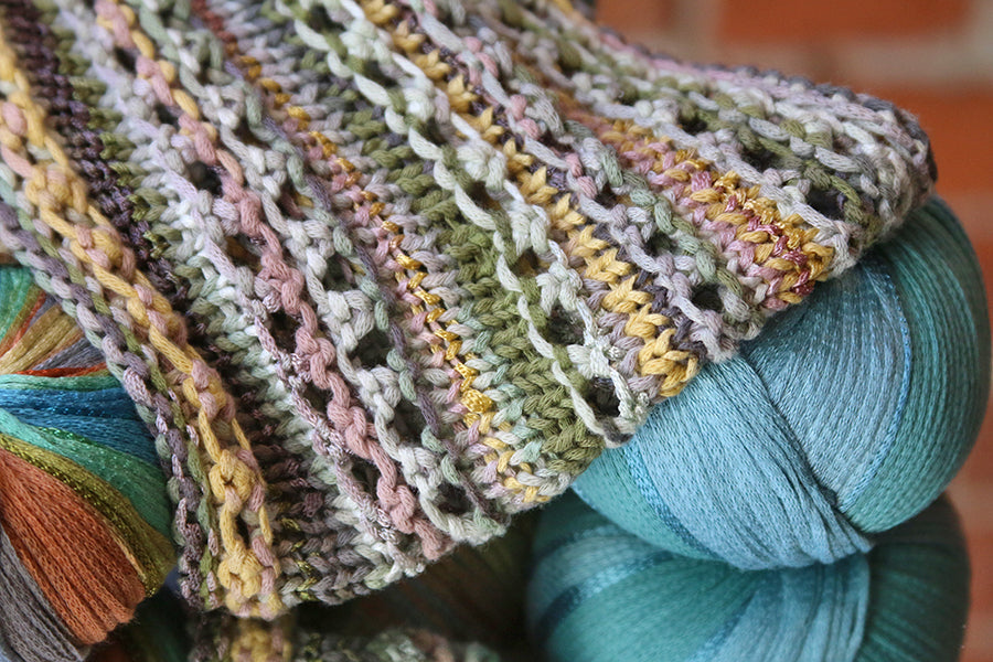 Project Inspiration Sanibel Cowl Northcoast Knittery