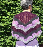 Four Color Shawl