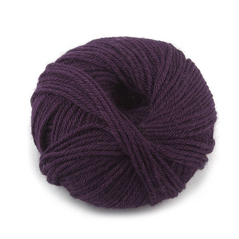 Aubergine Liberty Wool