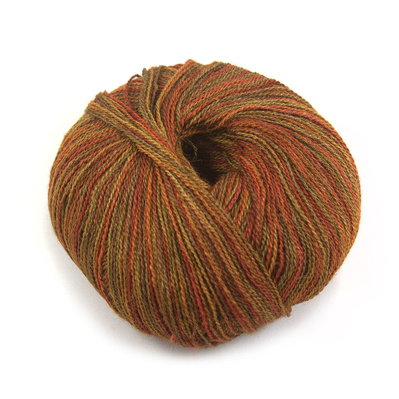 Autumn Copper Silky Alpaca Lace