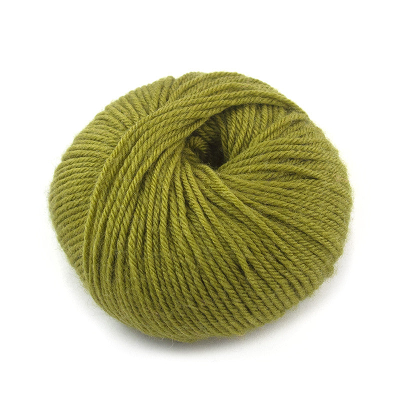 Bright Olive Liberty Wool
