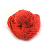 Bright Red Orange Cotton Classic
