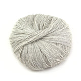 Cloud Grey Silky Alpaca Lace