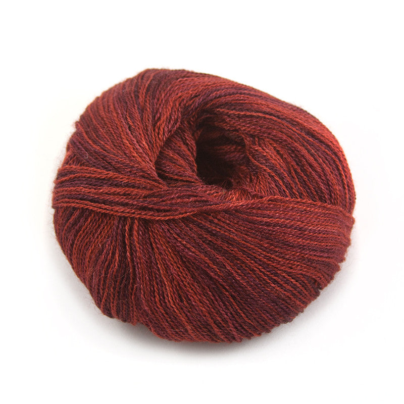 Deep Chili Silky Alpaca Lace
