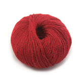 Deep Red Soft Linen