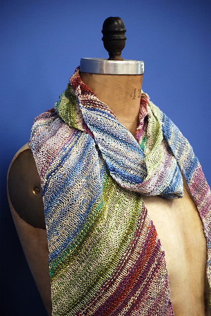 Diagonal Summer Scarf