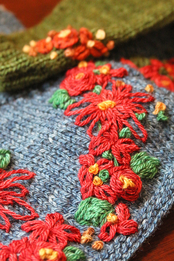 Embroidery On Knitwear