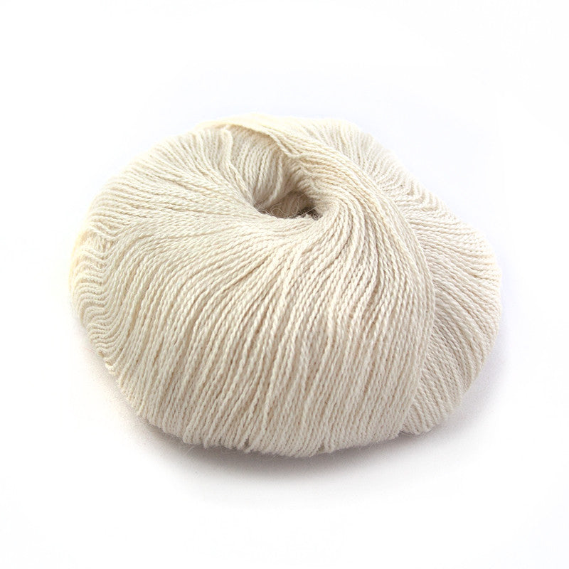French Vanilla Silky Alpaca Lace