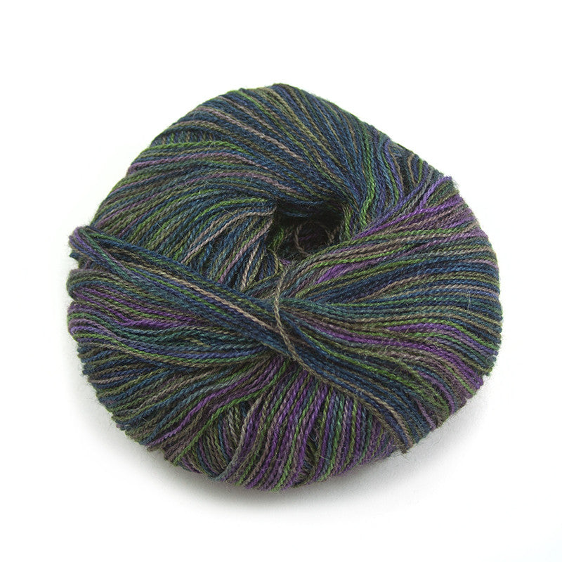 Midnight Forest Silky Alpaca Lace