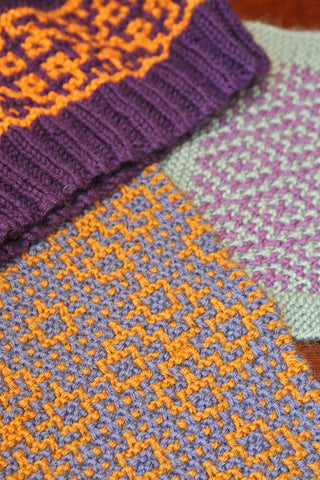 Colorwork The Easy Way: Mosaic Knitting