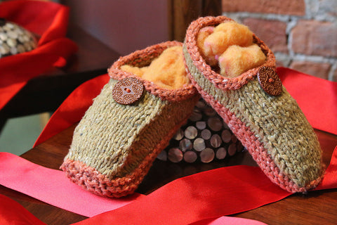 Holiday Workshop: Non-Felted Slippers