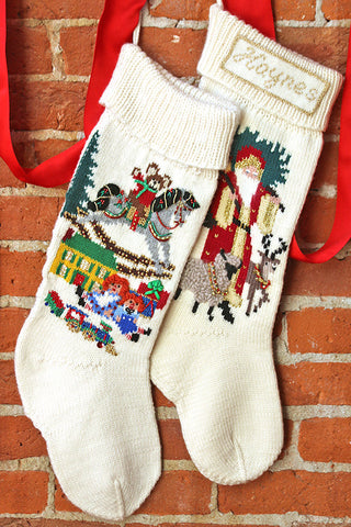 Olde Worlde Christmas Stockings
