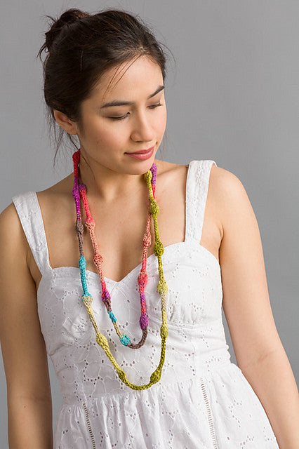 Santorini Beaded Necklace