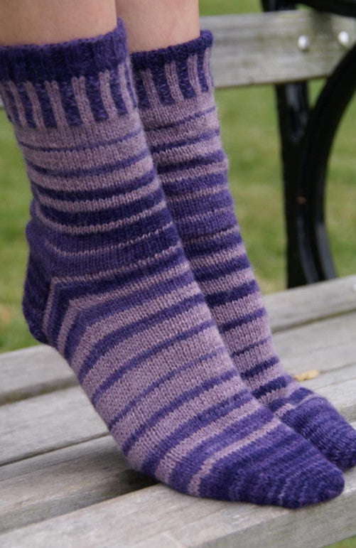 Striped Alpaca Sox