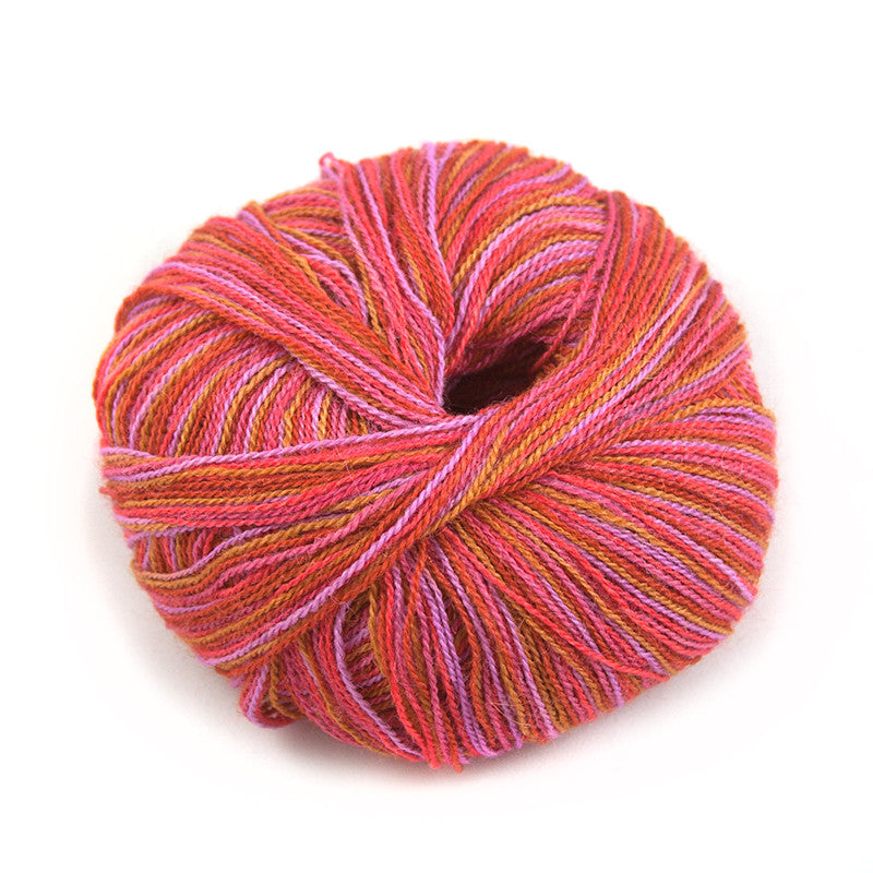Vivid Sunset Silky Alpaca Lace