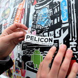 Pelicon Sticker & Coaster Pack