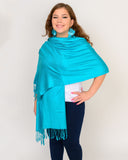 Solid Color Pashmina Scarves