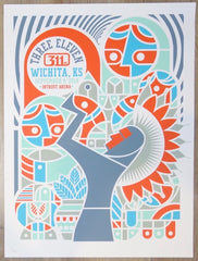 2018 311 - Wichita Silkscreen Concert Poster by Don Pendleton