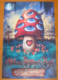 2009 Allman Brothers Band - NYC 3-D Concert Poster by Jeff Wood